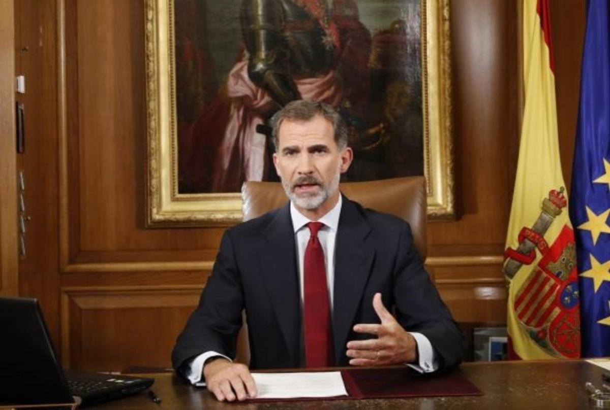 Discurso del Rey tras el referéndum del 1-O.