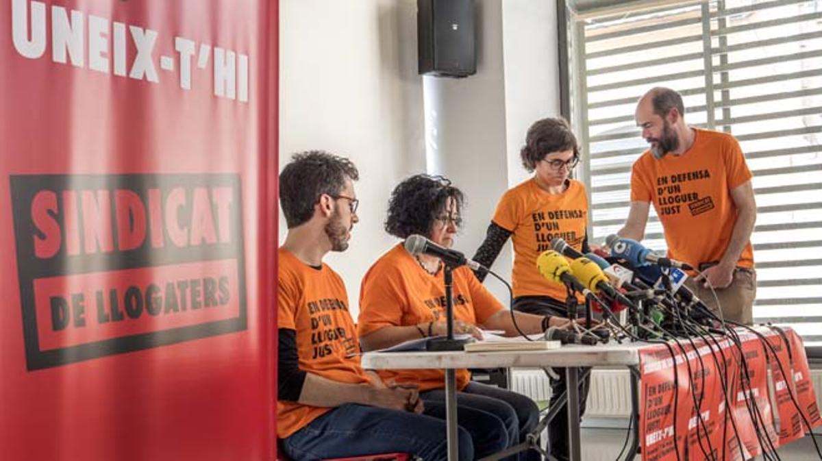 El sindicato pretende defender unos alquileres justos, estables y asequibles.