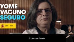 """""""Yo me vacuno seguro"""", la nueva campaña de Sanidad"""