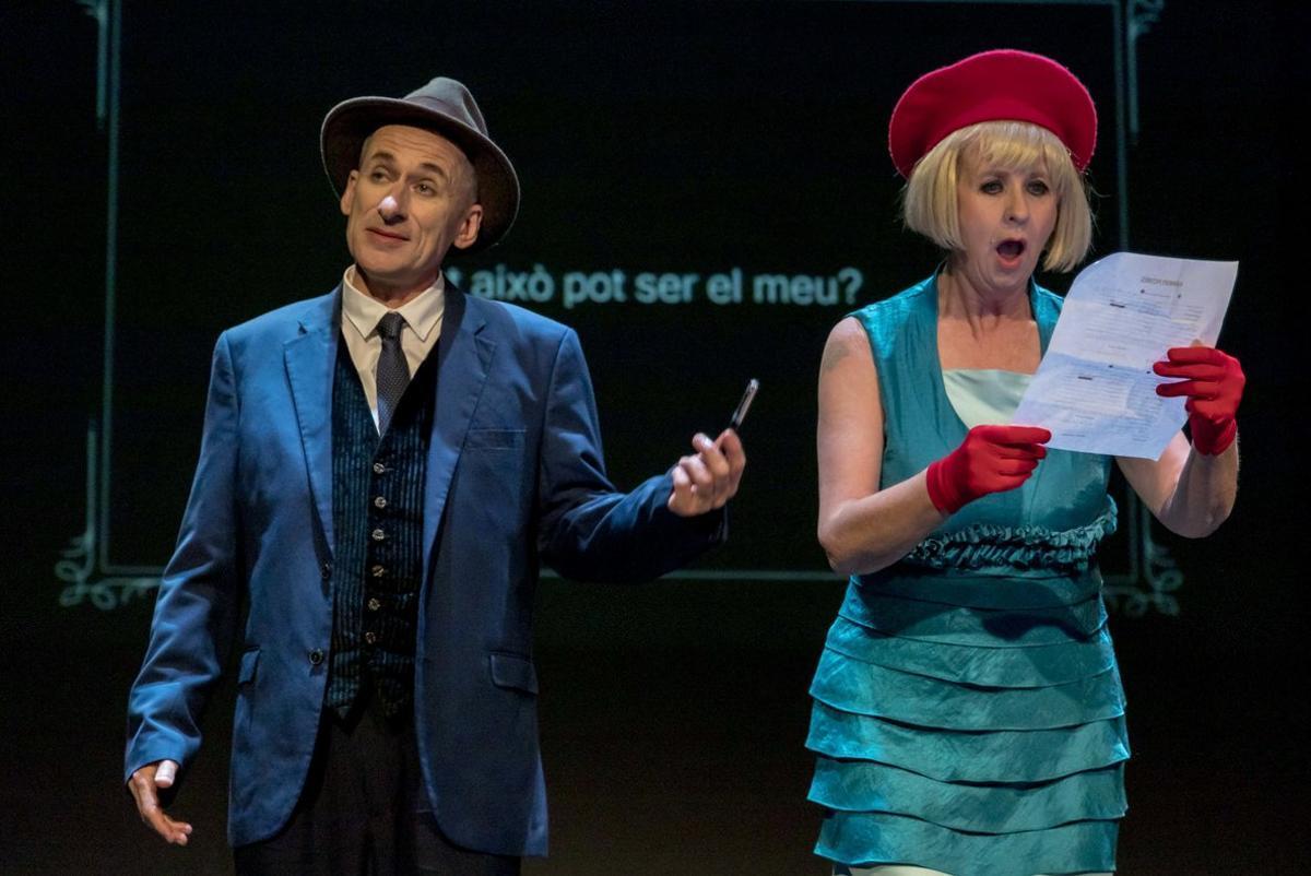 Caspar y Sue Flack protagonizan esta obra de denuncia.