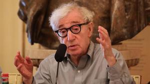 Woody Allen, este martes,en La Scala de Milán.