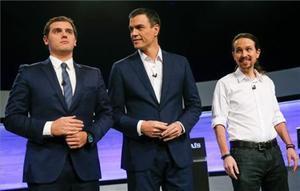 Los tuiteros marcan el debate electoral en España