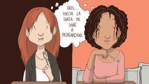 Viñeta de Raquel Riba, de 'Voces que cuentan'.
