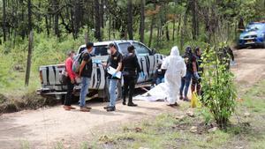 El asesinato de Amedee Maria se registró en un camino rural del municipio de San Antonio Ilotenango, perteneciente a Quiché.