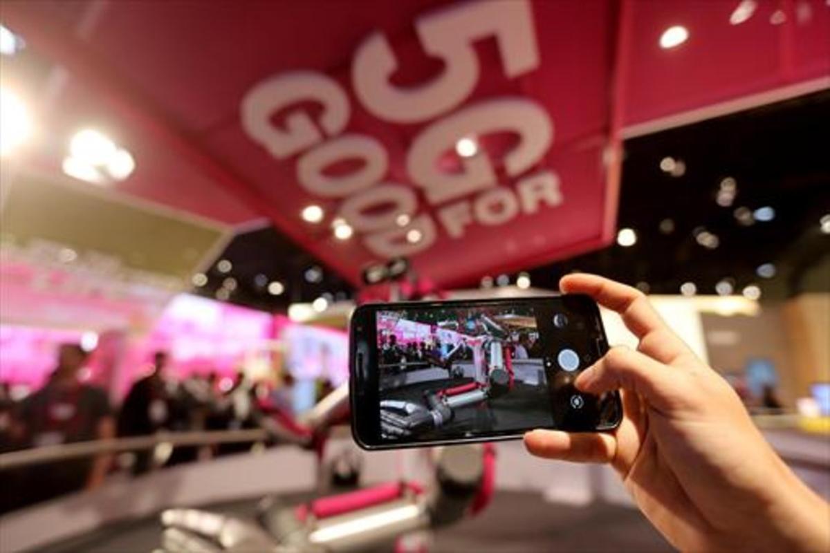 Demostració de5G alMobile World Congress.