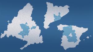 ¿A qué equivaldría confinar a los 5 millones de Madrid en otras zonas?