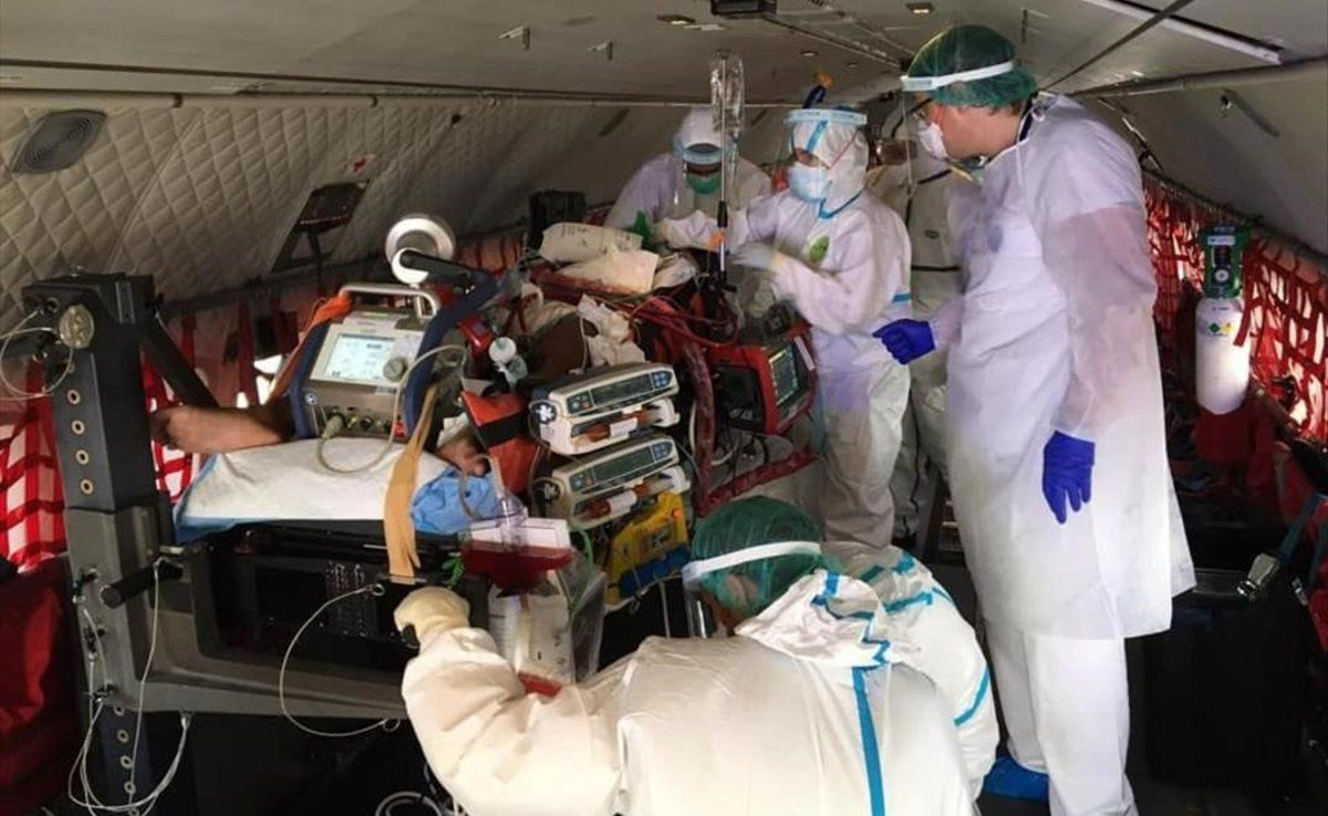 Traslladada a Barcelona una nena mallorquina en estat crític per coronavirus