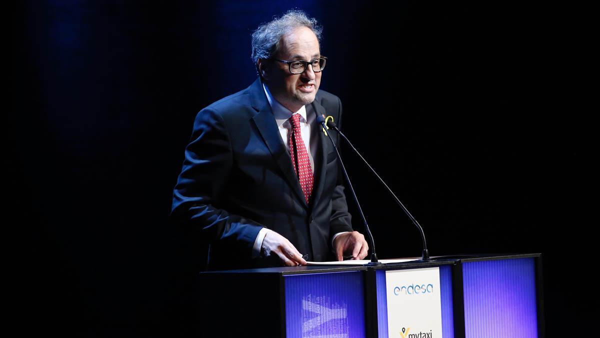 Discurso de Quim Torra, presidente de la Generalitat, en la gala del Català de l'Any 2017.