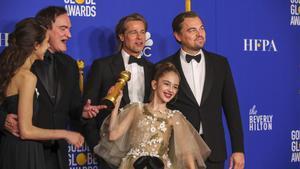 Tarantino i Mendes triomfen en uns Globus d'Or que donen l'esquena a Netflix