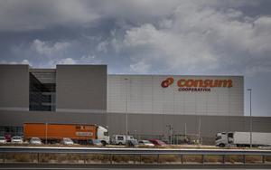 Sede central de la cooperativa de supermercados Consum, en Valencia.