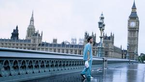 Cillian Murphy, en un fotograma de '28 días después', de Danny Boyle