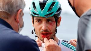 Campenaerts frustra l'homenatge a Xavi Tondo en el Giro