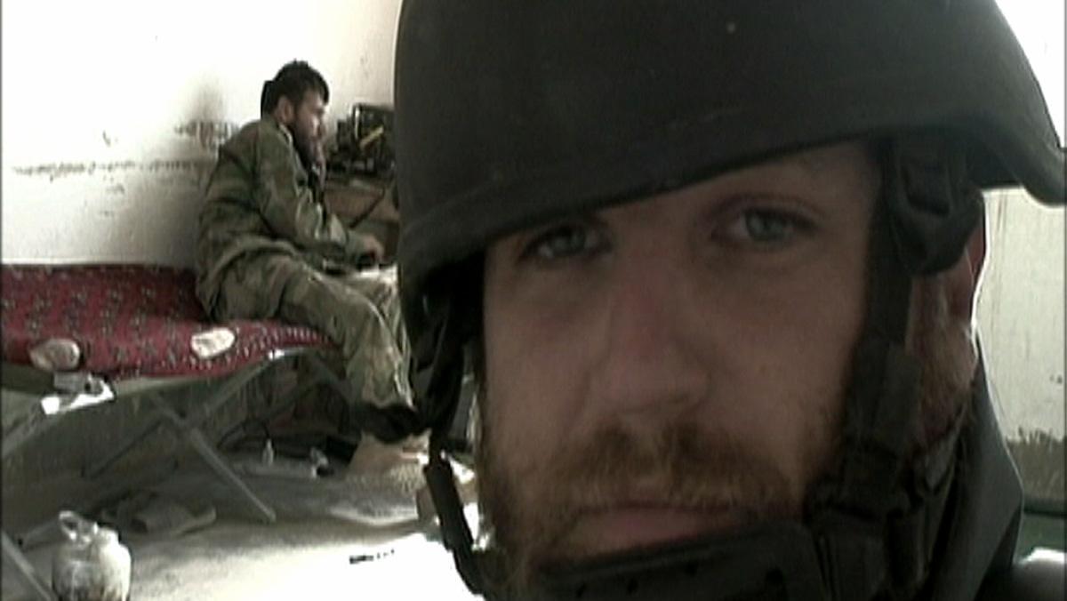 David Beriain, en el documental 'Los ojos de la guerra'