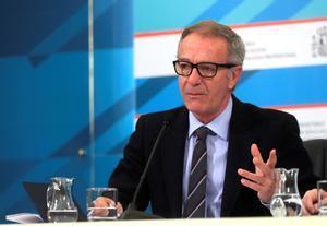 El ministro Guirao informa de los Presupuestos en el mundo del deporte, este jueves en Madrid.