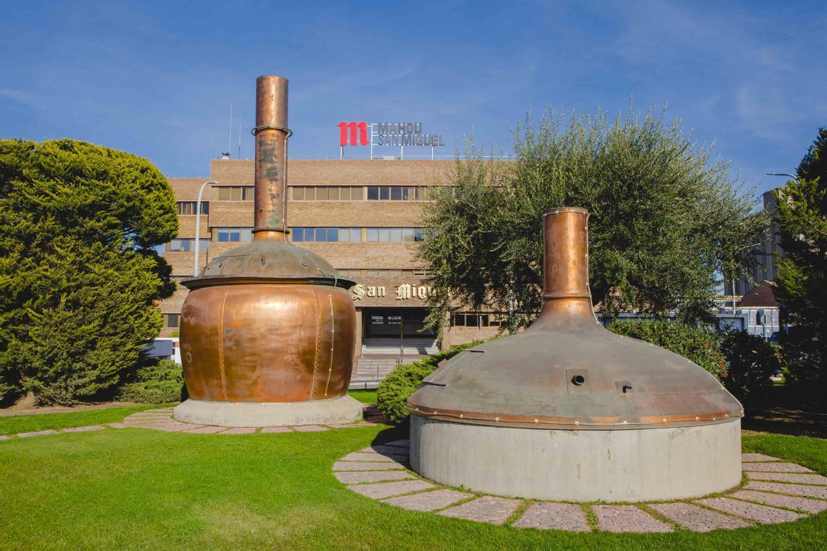 Instalaciones de Mahou en Lleida.