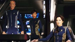 Los protagonistas de'Star Trek: Discovery', serie de la cadena CBS.