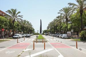 Calle del barrio de Gavà Mar de Gavà