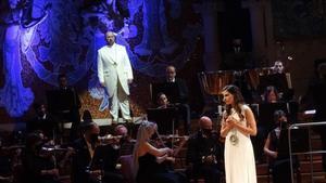Un momento de 'La flauta mágica' en el Palau de la Música.