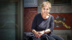 La escritora neoyorquina Vivian Gornick, en el CCCB de Barcelona.