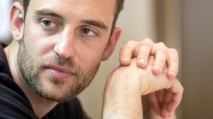 El escritor suizo Joël Dicker,en Madrid.
