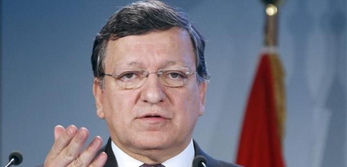 Durao Barroso ofrece un discurso en Viena, el 31 de enero.