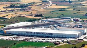 La factoría principal de la Cooperativa de Guissona.
