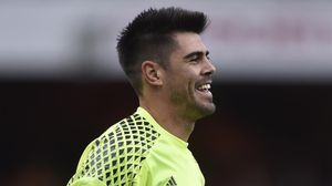 Víctor Valdés, portero del Middlesbrough.