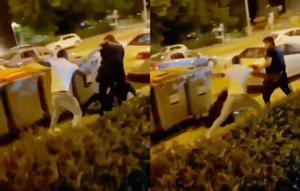 Un joven se resiste y agrede a un policía nacional en Madrid. Las unidades de seguridad ciudadana de distintas policías advierten de la creciente violencia en las reyertas urbanas entre jóvenes.