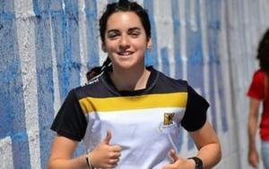 Claudia Hernández Rey, en una imagen del Granada Club.