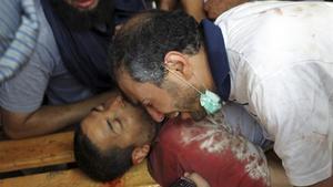 El gel del dipòsit de cadàvers d'El Caire