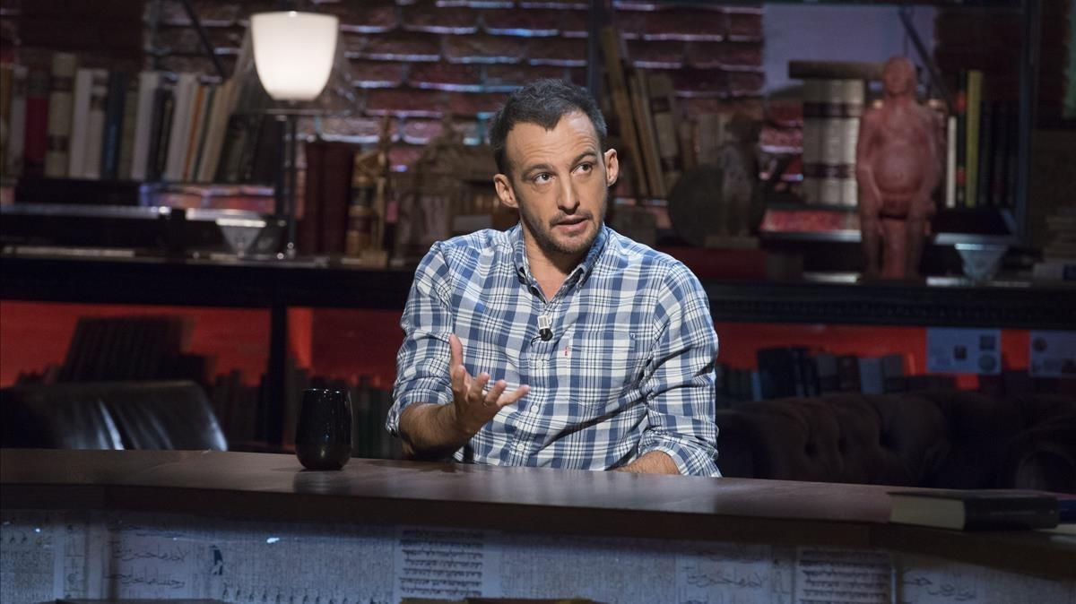 Alejandro Amenábar, en el programa 'Cuarto milenio'.