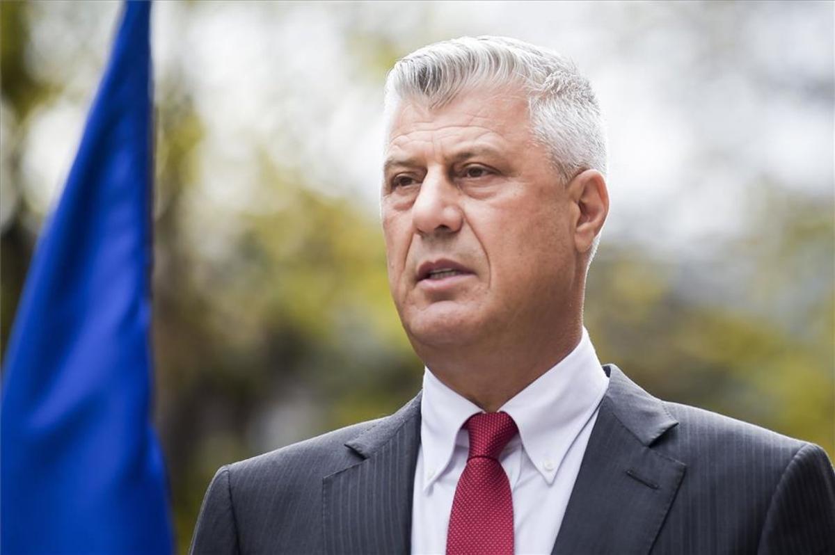 Hashim Thaci, presidente de Kosovo.