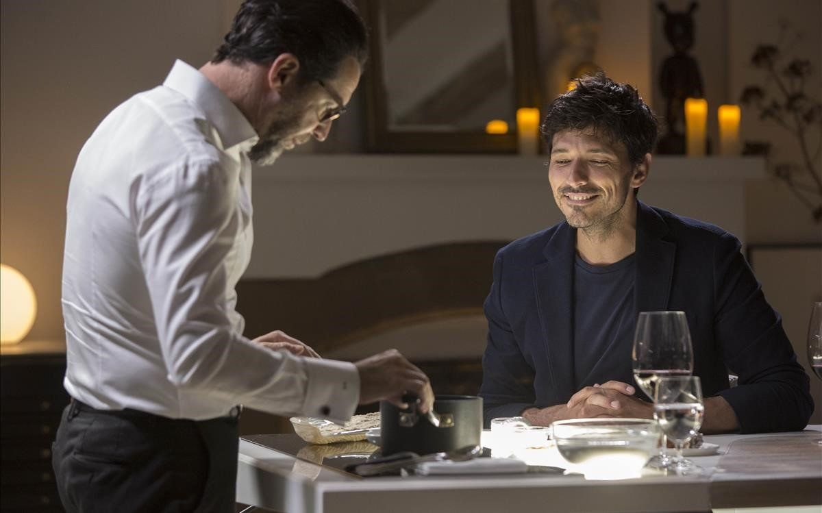 Quique Dacosta y Andrés Velencoso, en 'Una vida, una cena'.