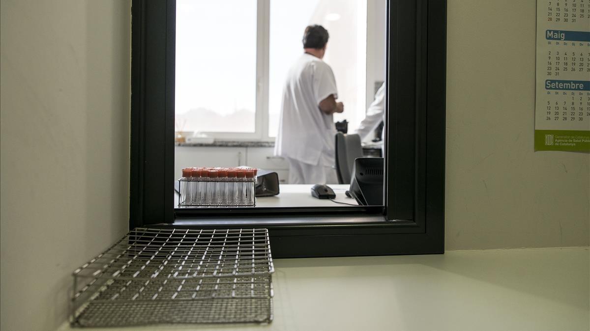 Servicio de psiquiatría del Hospital de Sant Pau.