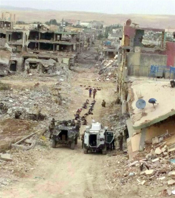 Nusaybin se rinde, tras 74 días, entre ruinas y un atronador silencio