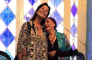 Carolina de Mónaco y Alicia Alonso.