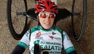 La vizcaína Ione Basterra, referencia del ciclismo adaptado