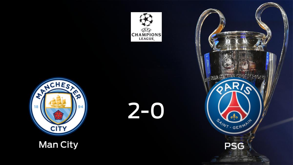 El Manchester City hace su feudo inexpugnable ante el PSG (2-0)