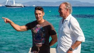 Bertín Osborne y Jesús Vázquez en 'Mi casa es la tuya'.