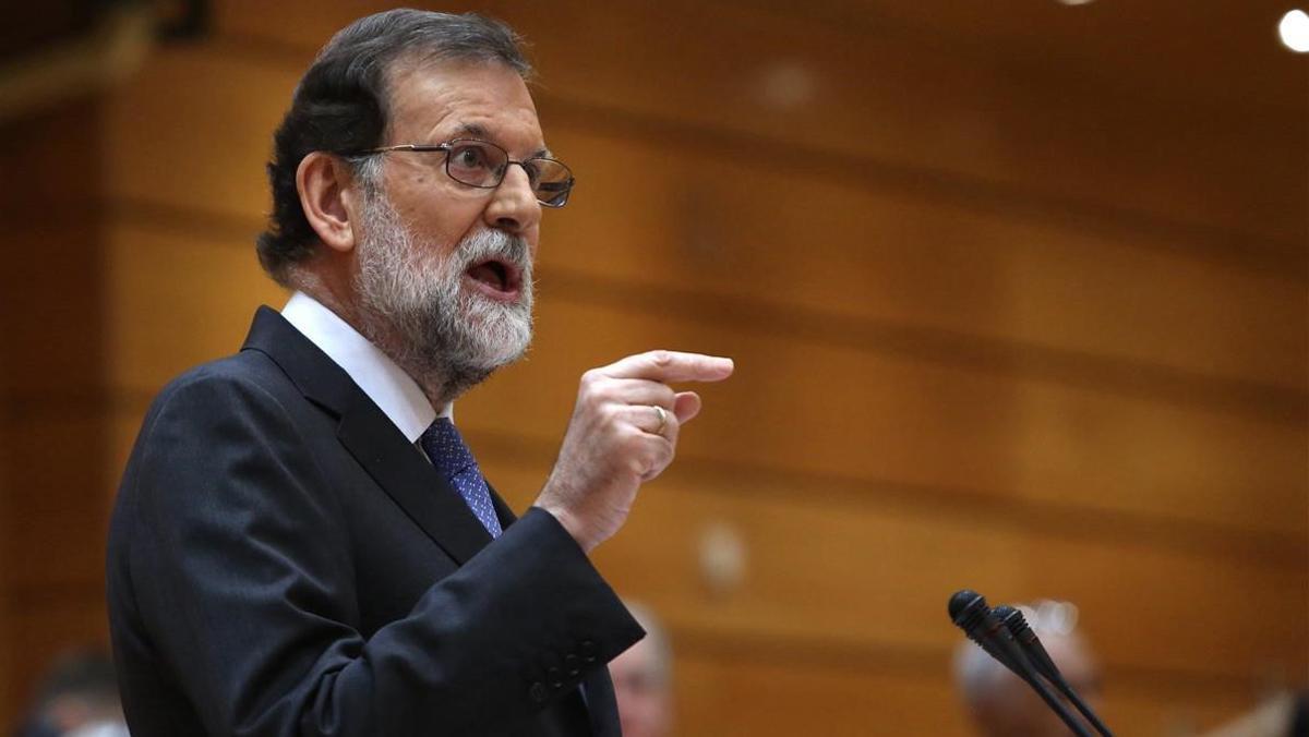Mariano Rajoy envía un mensaje a los españoles después de la aprobación de las medidas del art. 155