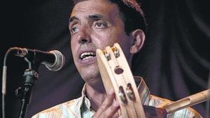 Pep Gimeno 'Botifarra', parte del 'dream team' del folk valenciano.