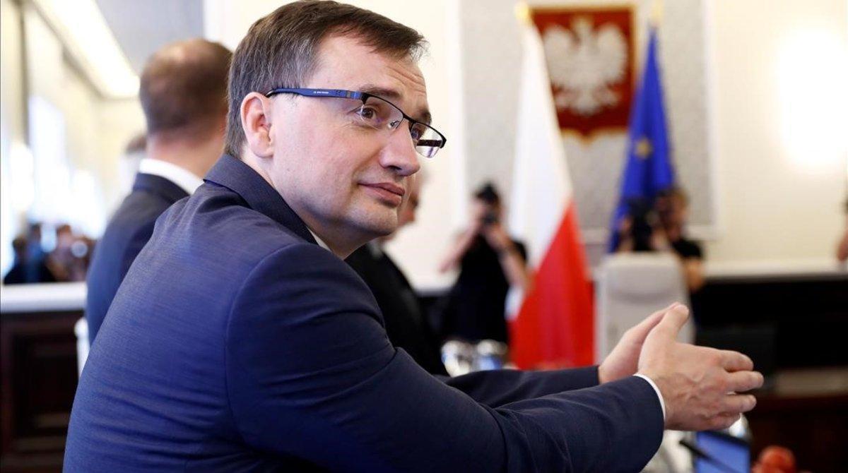 El ministro de Justicia de Polonia, Zbigniew Ziobro.