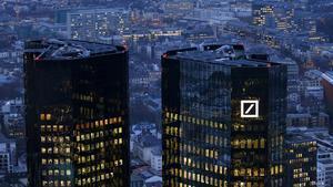 Sede central delDeutsche Bank en Fráncfort, Alemania.