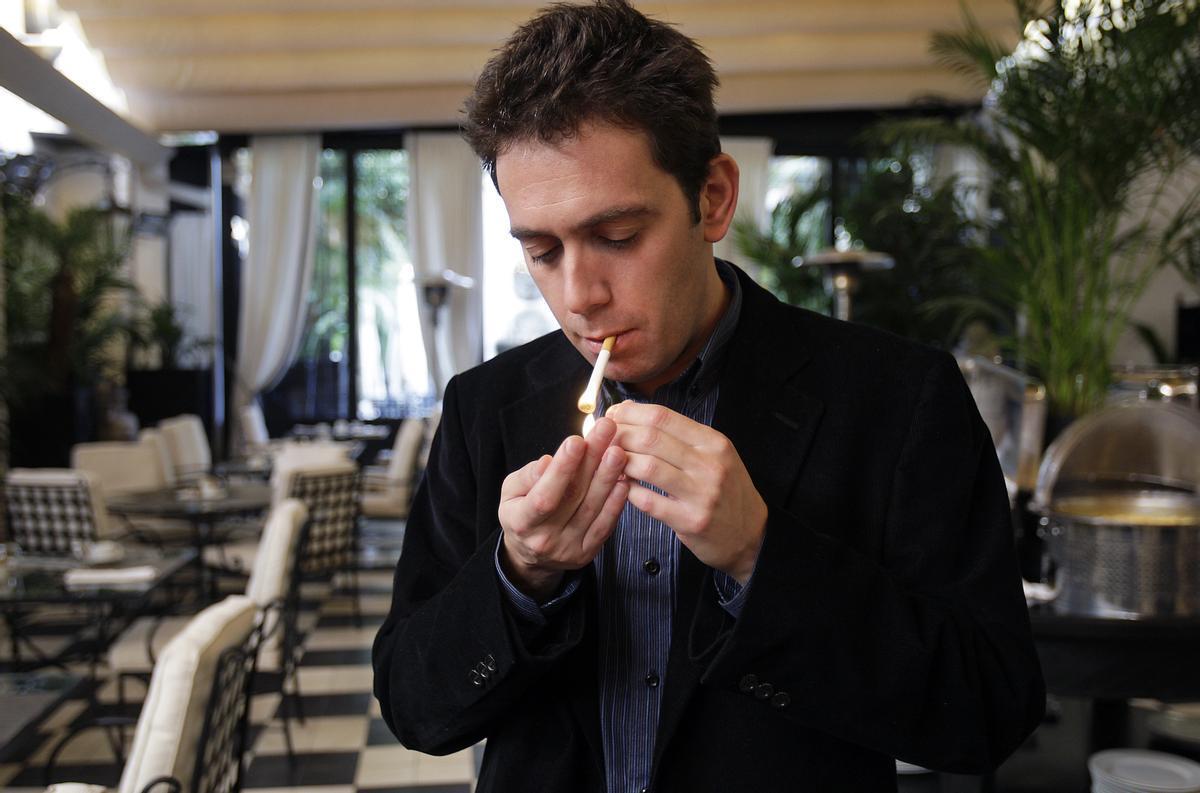El escritor y periodista Cristian Segura.