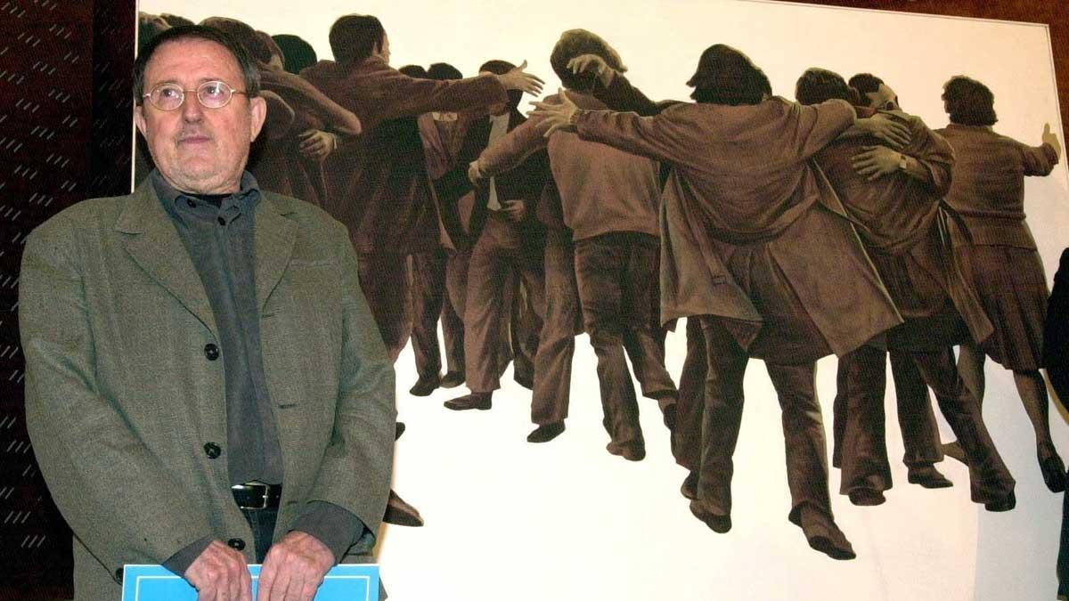 Mor l'artista Juan Genovés, autor de «L'Abraçada»