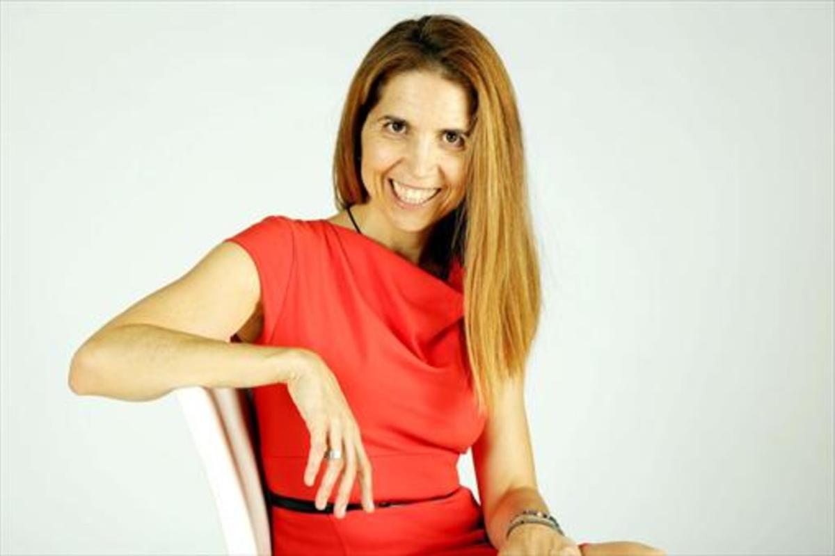 Nuria Oliver, gurú de informática.