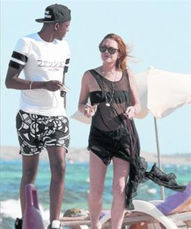 Lindsay Lohan también elige Eivissa para descansar
