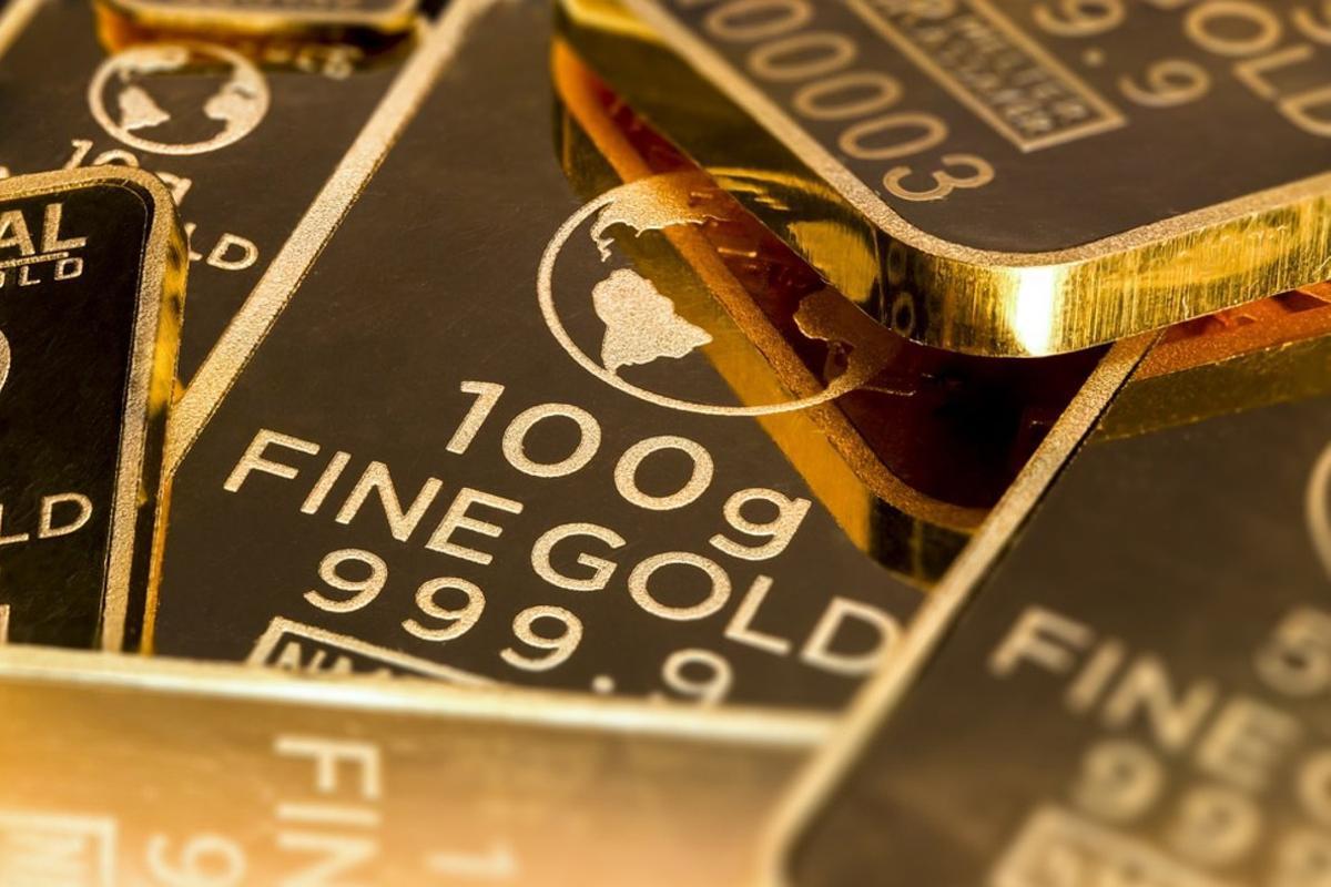 La inversión en oro aumenta cuando la volatilidad llega a las bolsas