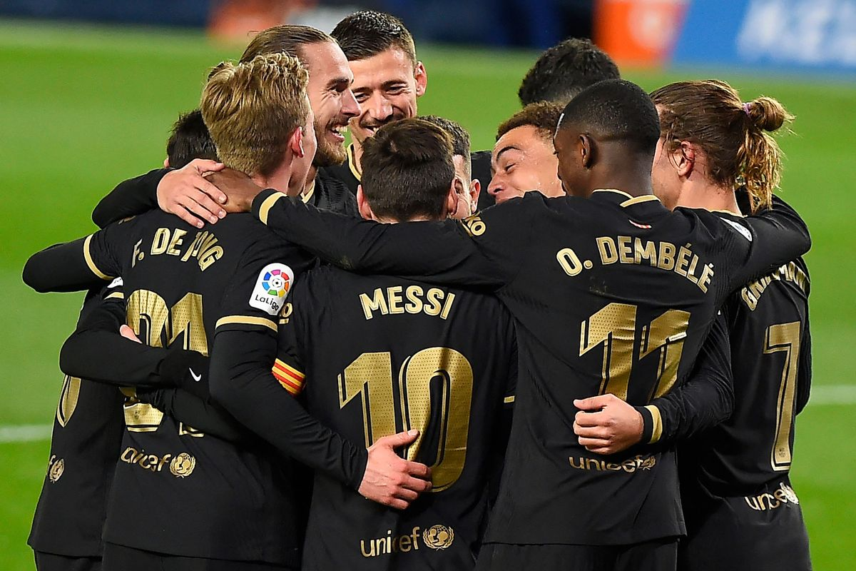 Al Barça marca fins i tot l'apuntador