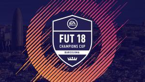 Cartel del FUT 18 Champions Cup Barcelona.